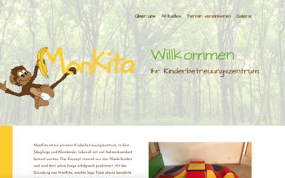 MonKita bekommt neue Webseite